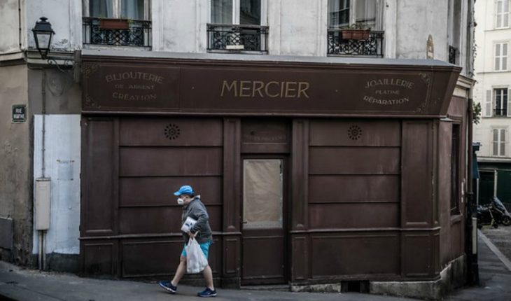 France surpasses 10 thousand deaths with 1,427 deaths in a single day, a record figure in Europe