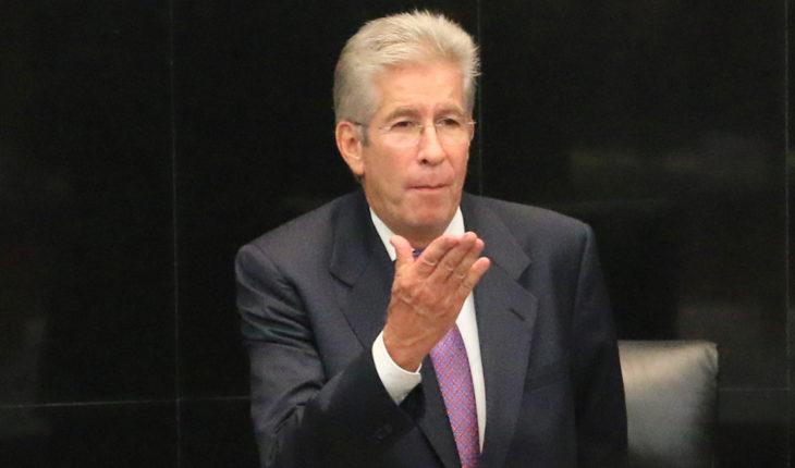 Gerardo Ruiz Esparza, holder of the SCT in the government of Peña