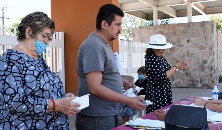 Guarantee social program supports in Sinaloa