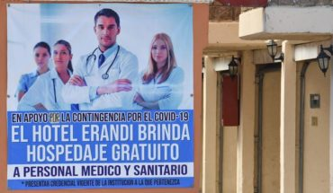 Hotels where health workers can stay for free on CDMX