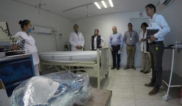 "IMSS Michoacán installs ""Triage Respiratorios"" in hospitals"