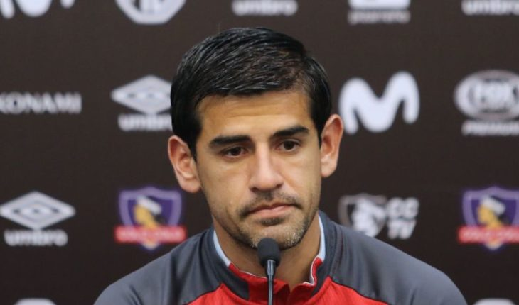 Julio Barroso defends Colo Colo's roster and does not rule out leaving the club