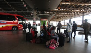Minister Hutt awaits resumption of intercity buses suspended after sanitary customs installation in terminals