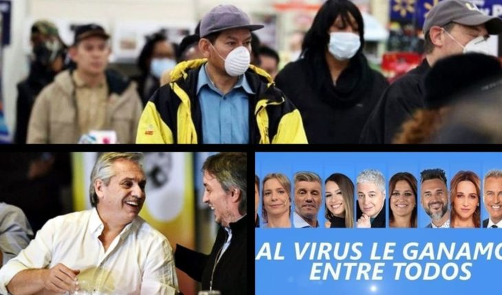 More than 100 thousand cases of coronavirus in a day, analyze to create a new tax, tv channels come together in a solidarity program and much more...
