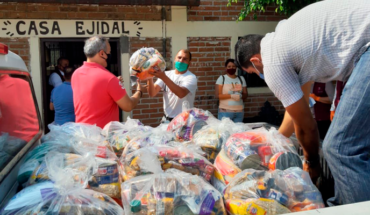 Morelia government approaches to the target of 35,000 pantries delivered to vulnerable sectors
