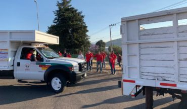 New waste collection service in Pátzcuaro, guarantees employment of all workers: Victor Báez