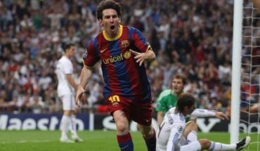 Nine years from one of Lionel Messi's most remembered goals