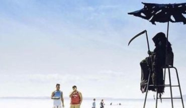 On May 1, death will come to Florida's beaches, to scare the walkers