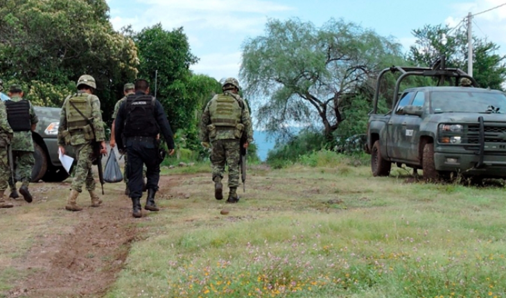 Shooting is recorded in El Aguaje; soldiers take down 2 suspected hitmen