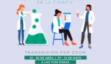 Student of the University of Chile gives free online workshop on the role of women in science