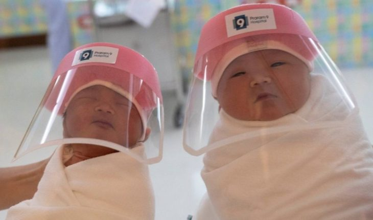 Thailand: implemented helmets with face protection for babies