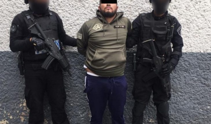 'The Fabian' alleged looting instigator and leader of CDMX narcomenudists are arrested
