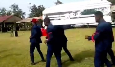 The story behind the African meme dancing with a coffin