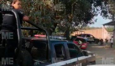 They find a guy shot in La Cofradía, Uruapan