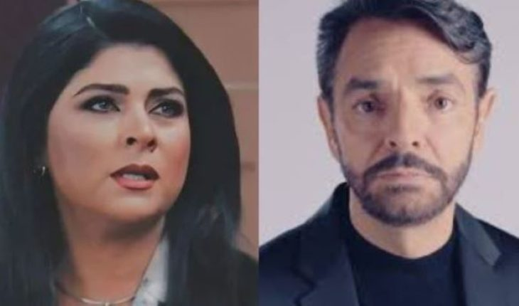 They mock Derbez and remind him of his fake wedding to Victoria Ruffo