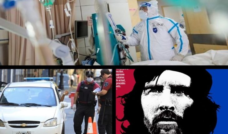 Three new coronavirus deaths in the country, extend the deadline to take out the circulation certificate, compare Messi to Che Guevara and much more...