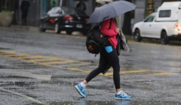 Weather alert for heavy rains and storms