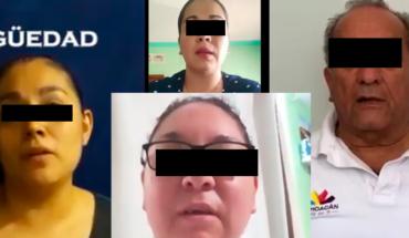 """""""Regrésame mi empleo"""", piden ex trabajadores del Seguro Popular en Michoacán a Diana Carpio (Video)"""