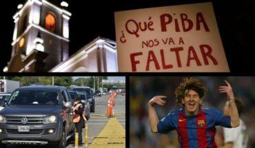 36 femicidios en cuarentena, nuevos permisos para varados, 15 años del primer gol de Messi, Stones en Argentina y más...