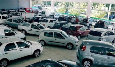Abrupta caída en la venta de autos usados