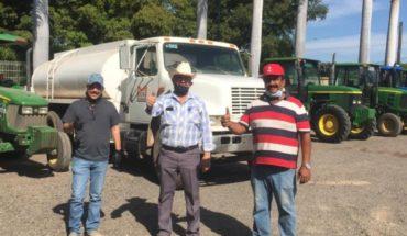 Agricultores respaldan medidas contras el coronavirus en Guasave