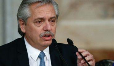 """Alberto Fernández: """"Yo no quiero caer en default"""""""