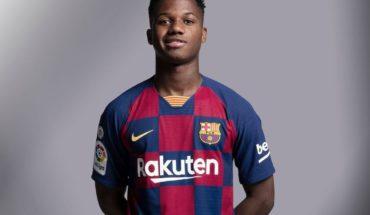 Ansu Fati tendrá mucha competencia en el Barcelona