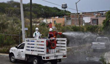 Ayuntamiento de Morelia continuará sanitizando calles y espacios públicos