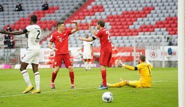 Bayern Múnich aplastó al Fortuna Düsseldorf en su camino al titulo de la Bundesliga