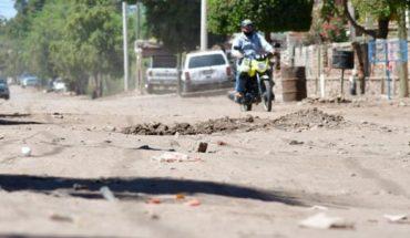 Ciudadanía pide pavimentación en la colonia Cuauhtémoc de Guamúchil