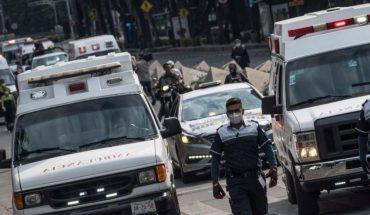 Con marcha, paramédicos de CDMX rinden homenaje a compañeros muertos por Covid-19