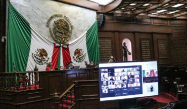 Congreso del Estado de Michoacán sesionó por primera vez de manera virtual