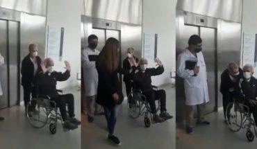Coronavirus: emotivo alta a un paciente tras permanecer 52 días internado