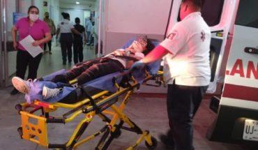 Cuatro menores se lesionan en volcadura en Barobampo