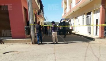 Delincuentes en motocicleta quitaron la vida de una mujer, en Tancítaro