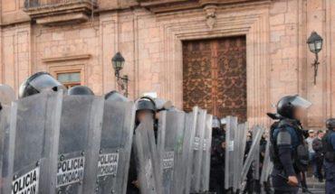 Descarta Madriz Estrada, resguardar con policías al Congreso de Michoacán ante manifestaciones de maestros