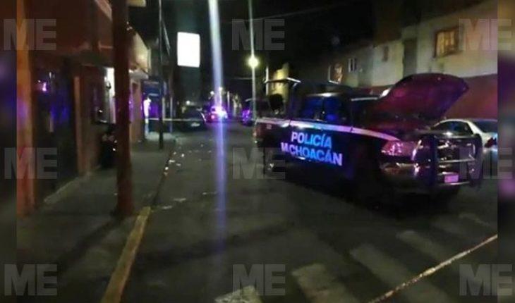 Detenido pierde la vida dentro de una patrulla en la colonia Melchor Ocampo, en Morelia