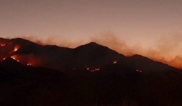 Doce dotaciones trabajan para controlar incendio en San Luis
