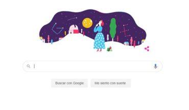 Google le dedicó un Google a Adelina Gutiérrez Alonso, astrofísica chilena