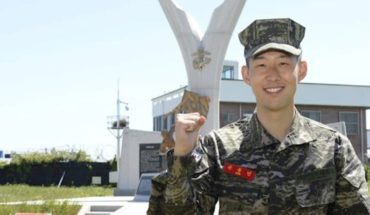 Heung-Min Son, de futbolista a militar
