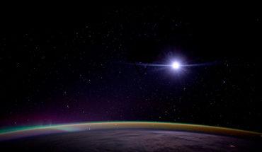 Salida de la Luna desde la Estación Espacial Internacional (2016). Foto: NASA/Kate Rubins (CC BY-NC 2.0). Blog Elcano