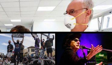 La fuerte frase de Gollán sobre el levantamiento de la cuarentena, protestas y disturbios en Estados Unidos, la salud de Charly García y mucho más...