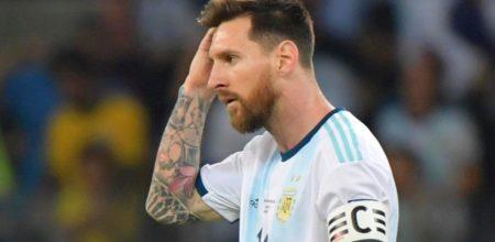 """Lionel Messi: """"Tenía una gran ilusión de volver a jugar la Copa América este año"""""""