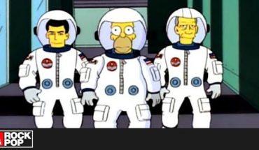 Los Simpson protagonizaron los memes del lanzamiento del Falcon 9 de SpaceX