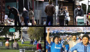 Más de 500 casos en barrios porteños vulnerables; cómo serán las salidas recreativas en CABA; 33 años del primer Scudetto del Napoli con Maradona; el argentino que rompió Tik Tok por su parecido a Brad Pitt y más...