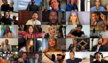 """Músicos latinoamericanos reversionan """"Color Esperanza"""": un canto contra la pandemia"""