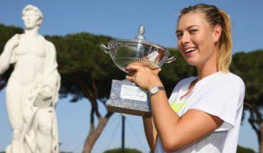 María Sharapova sorprende a fanáticos con su rutina de ejercicios