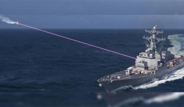 Marina de EE. UU. realiza una prueba de armas láser y lo comparten en video (Video)