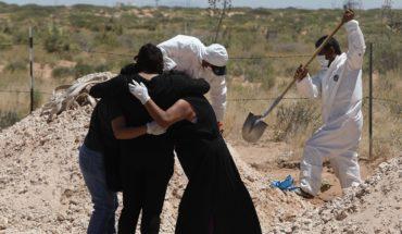 México registra su mayor aumento de muertes y contagios por COVID-19