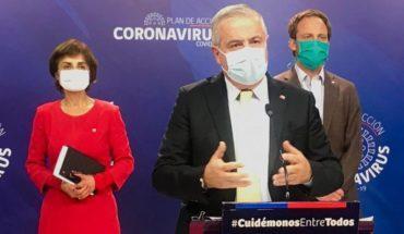 Minsal reportó cinco nuevos fallecidos por coronavirus y total de contagios superó las 22 mil personas